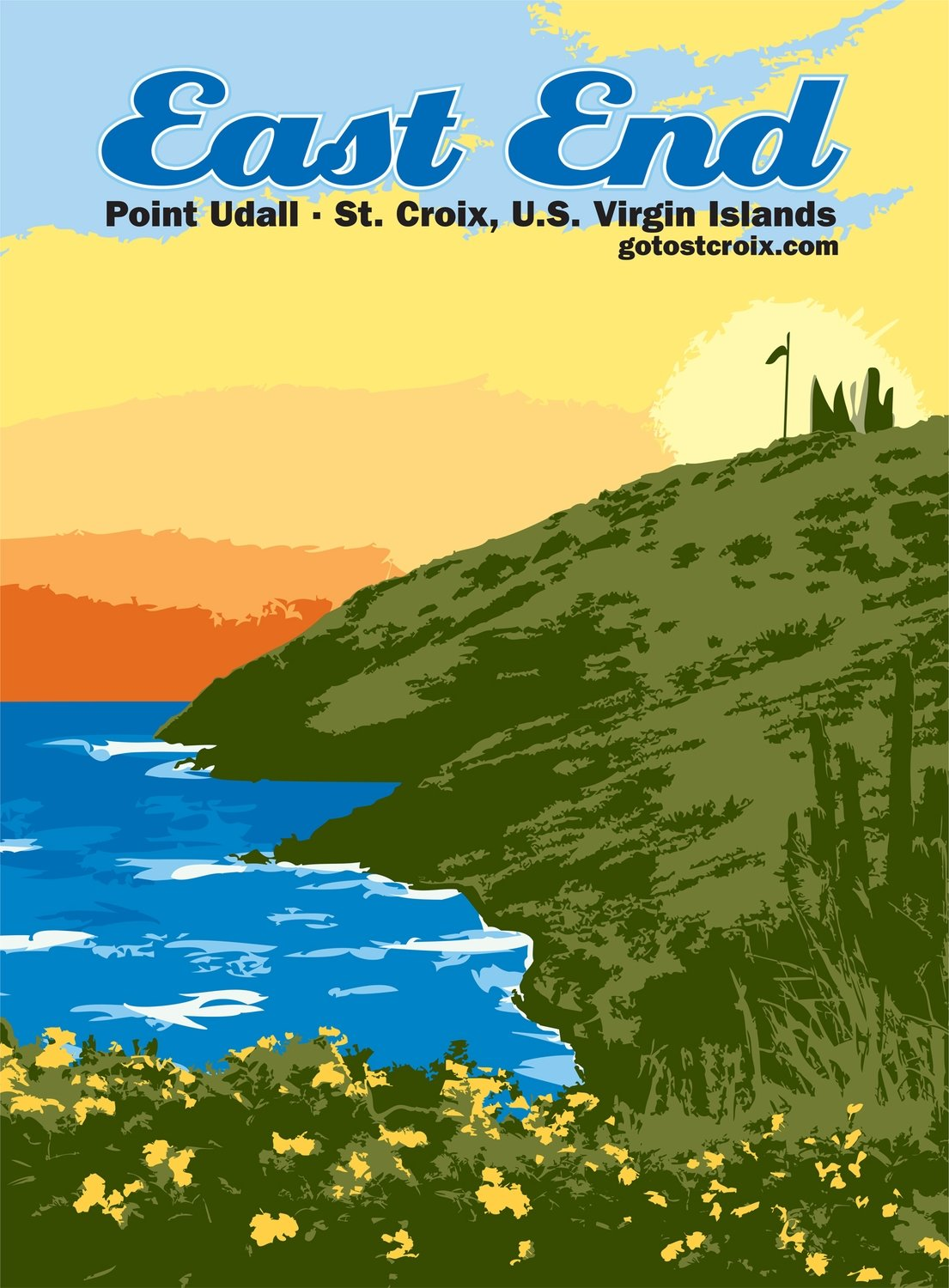 Poster: East End, Point Udall