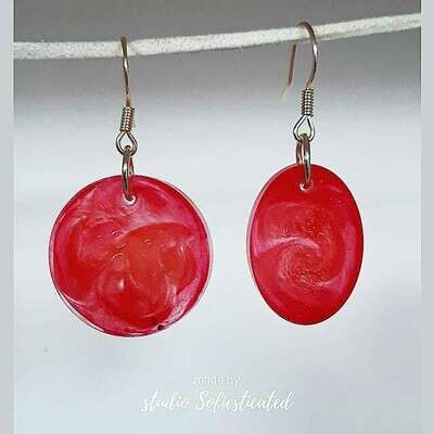 earrings resinart
