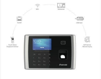 Anviz A380 Access control / Time Attendance Machine