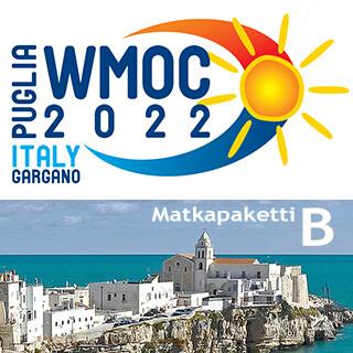 WMOC 2022 varausmaksu - matkapaketti B