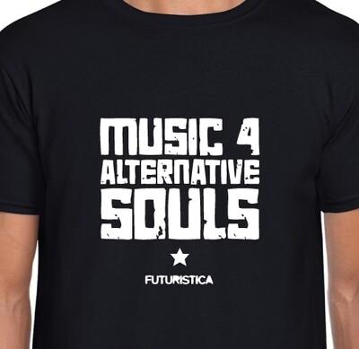 Futuristica Music 4 Alternative Souls music T-shirt