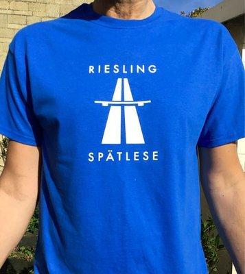 Riesling Kraftwerk Autobahn Wine T-shirt - Mens and Womens