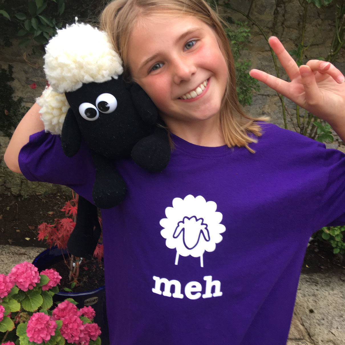 Kids Sheep lamb meh T-shirt