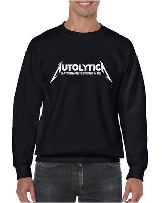 Autolytica autolysis Metallica Champagne Wine Sweatshirt