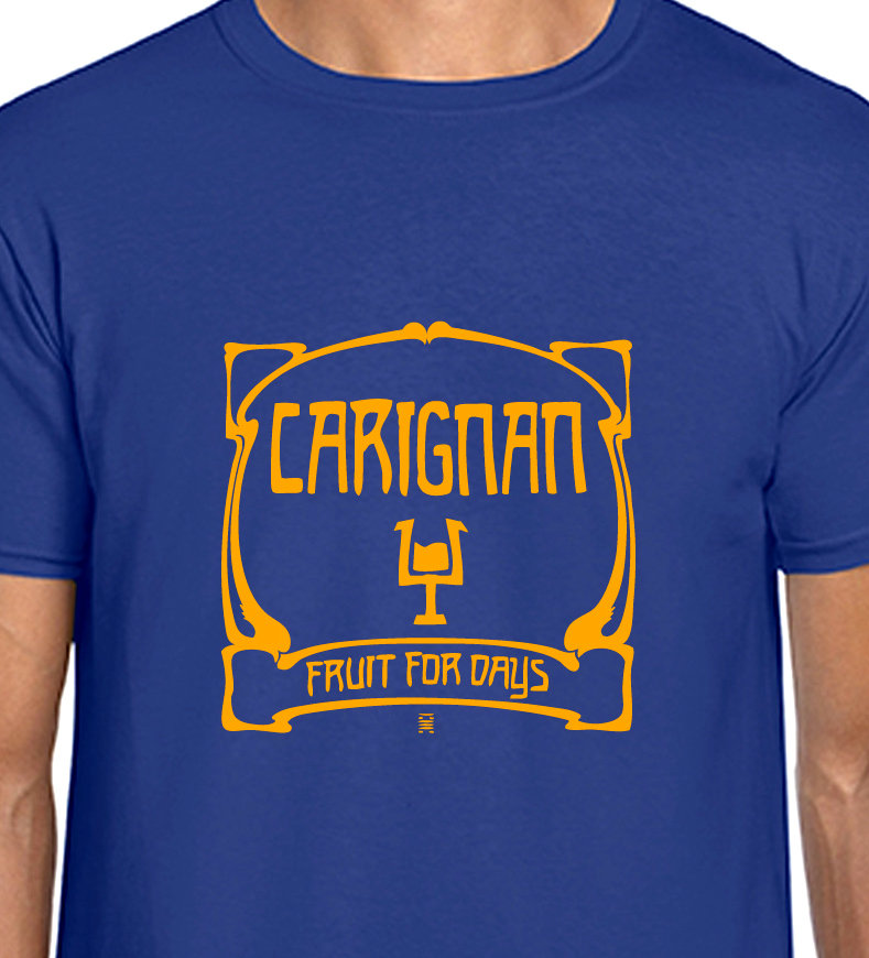 Carignan Fruit for Days Red Wine T-shirt - Krautrock
