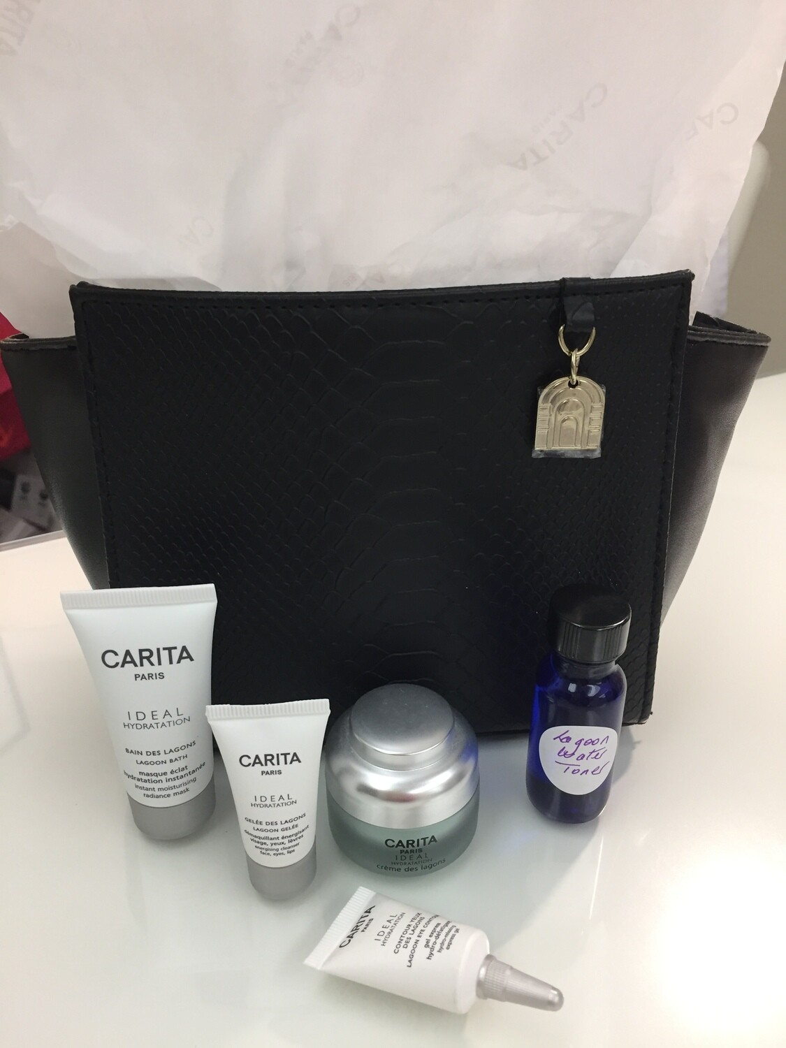 AT HOME CARITA LAGOON SPA KIT