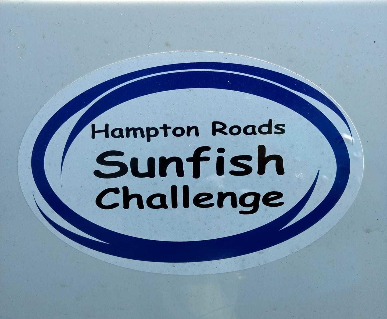 Hampton Roads Sunfish Challenge Sticker