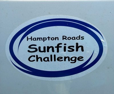 Hampton Roads Sunfish Challenge Sticker