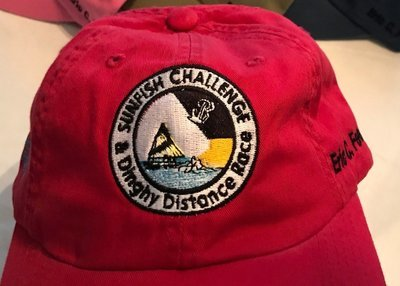 Red Sunfish Challenge Ball Cap