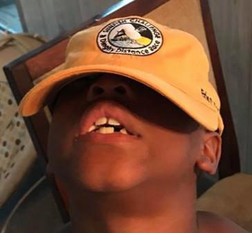 Mustard Sunfish Challenge ballcap