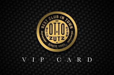 OTTO ZUTZ VIP CARD