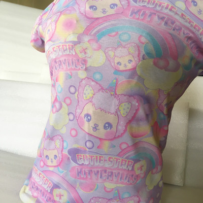 Cutie-Star KityCrylics Star Dreamer All Over Print Tee
