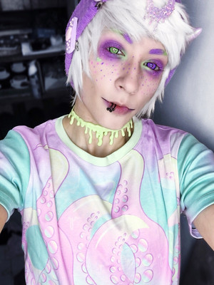 KityCrylics Harajuku Tentacles Shirt (unisex)