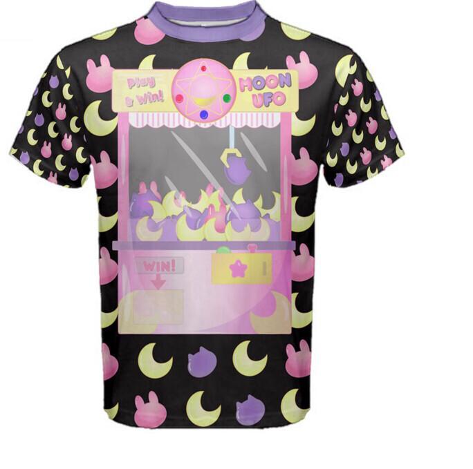 Moon UFO Sailor Moon inspired Unisex tee