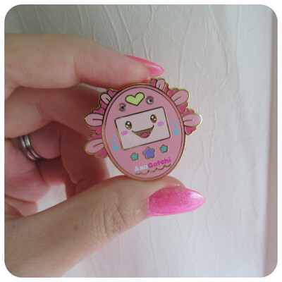 Axogotchi Hard Enamel Pin * CLEARANCE *