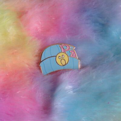 Phoenix Wright Beanie Enamel Pin