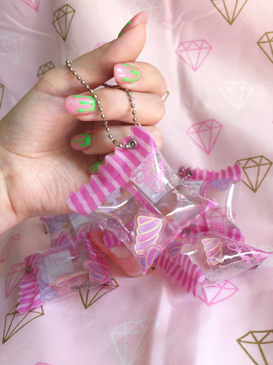 Kity Mallow Candy Bag charm