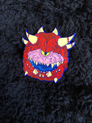 *NEW* Demon Doom Pin