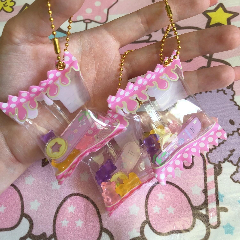 Kity Gamer Bites Candy Keychain