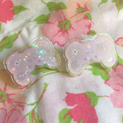 *NEW* Kawaii Game Controller Acrylic Pin