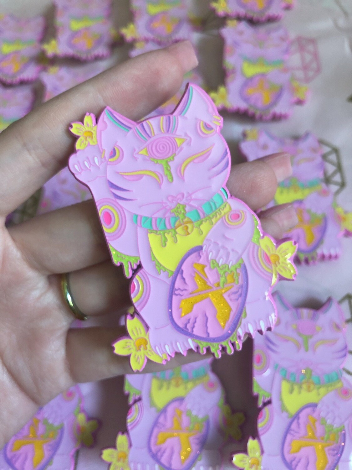 EXCISION Lucky Cat LE 35 Pin