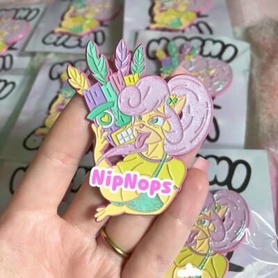 LE25 Ahegao Coco Enamel pin