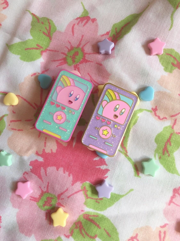 *DUDS* Kirby MP3 Enamel pin