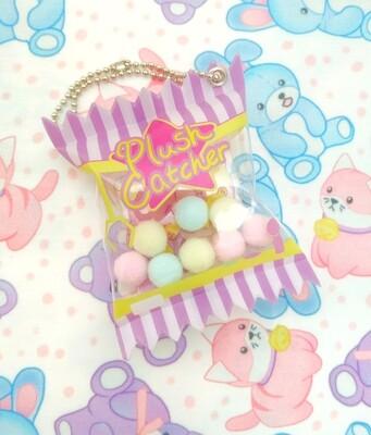 Kawaii Plush Catcher Candy Charm