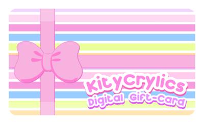 KityCrylics Electronic Gift-Card