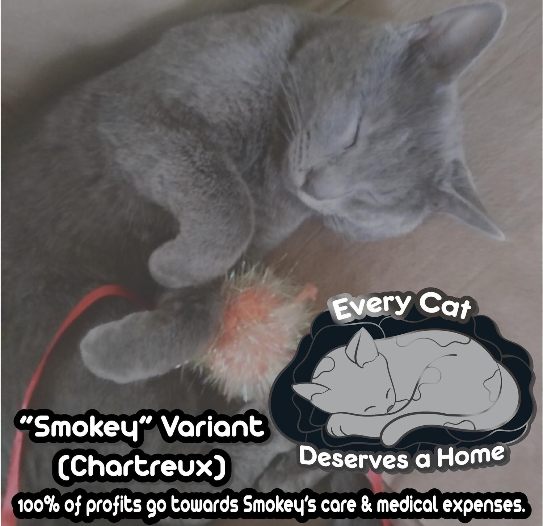 Smokey's Charity Enamel Pin