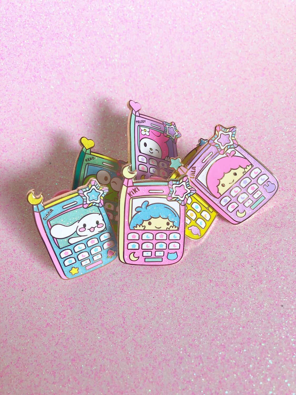 Cellular Cuties Enamel Pins