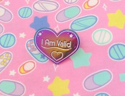 I Am Valid Anodized Enamel Pin