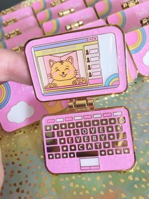 *NEW* Neko-Neko Laptop Hinged Pin