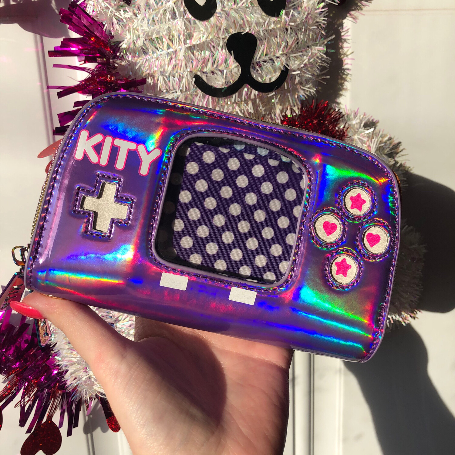 Kity Holographic ITA Clutch Wallet