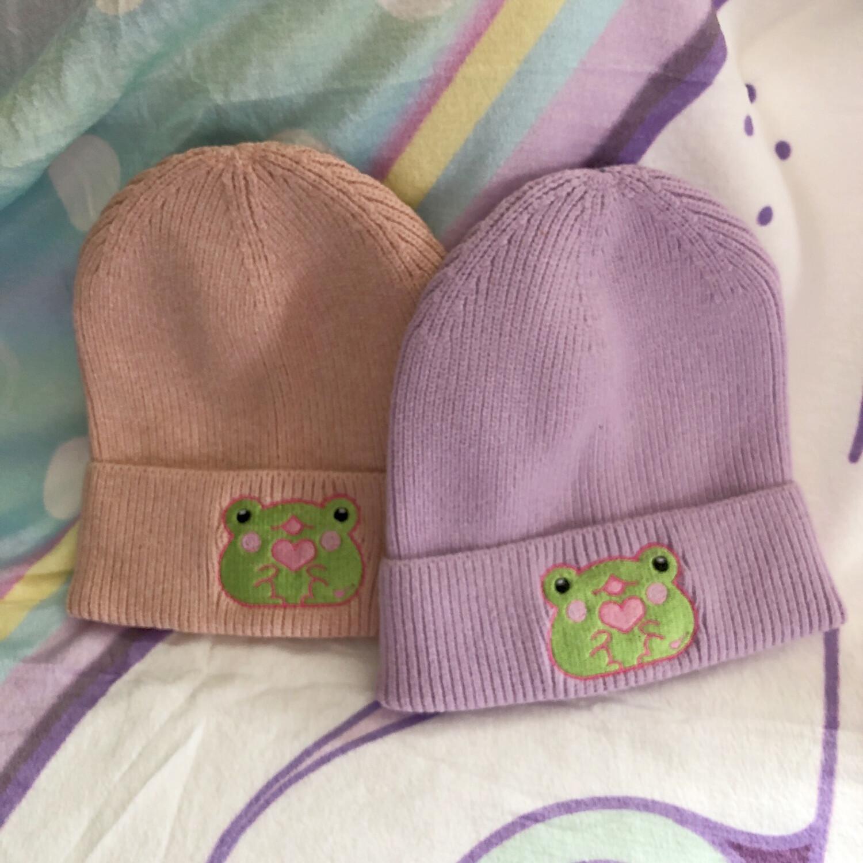 *NEW*Frog Boi Cotton Beanie