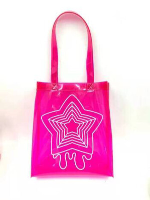 Neon Pink PVC Totebag (arriving May)