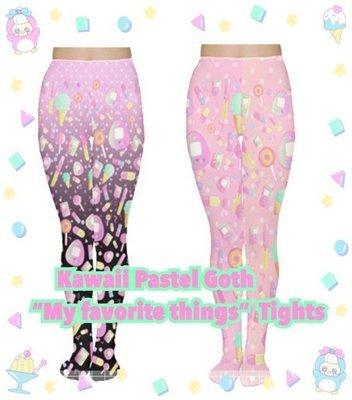 Kitycrylics Kawaii Fairy Kei Tights