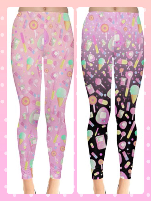 KityCrylics Kawaii Sweets Leggings