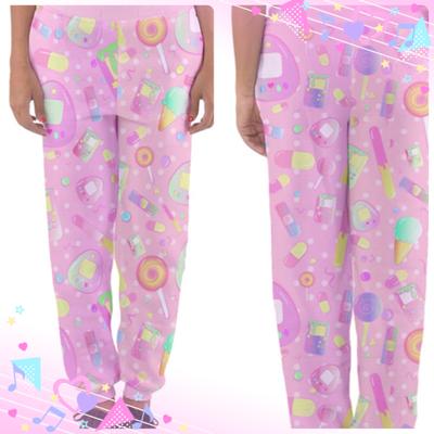 Kawaii Fairy Kei Sweets Lounge pants