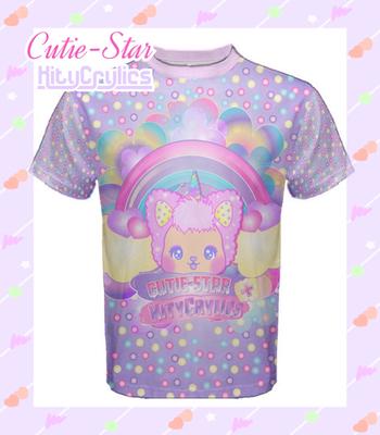 Cutie Star Dreamer Fairy Kei Shirt