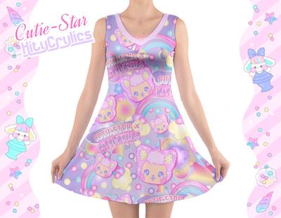 Cutie Star / KityCrylics Star Dreamer Fairy Kei Dress