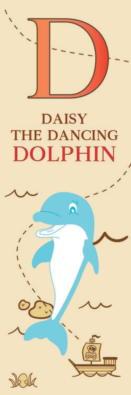 Daisy The Dancing Dolphin From Denmark Bookmark