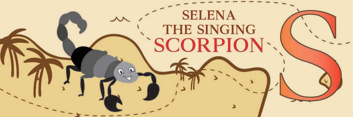 Selena The Singing Scorpion From Spain Bookmark