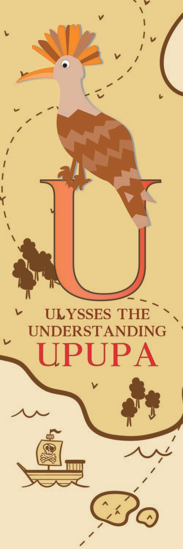 Ulysses The Understanding Upupa From Uganda Bookmark