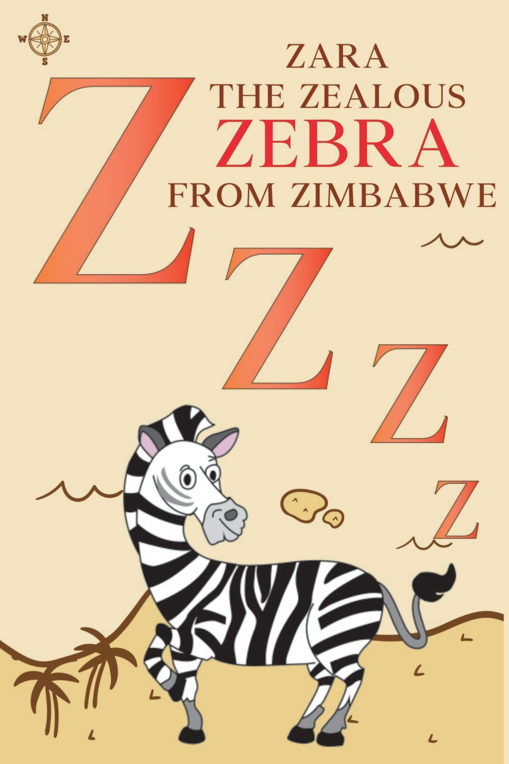 Zara The Zealous ZEBRA From ZIMBABWE Poster