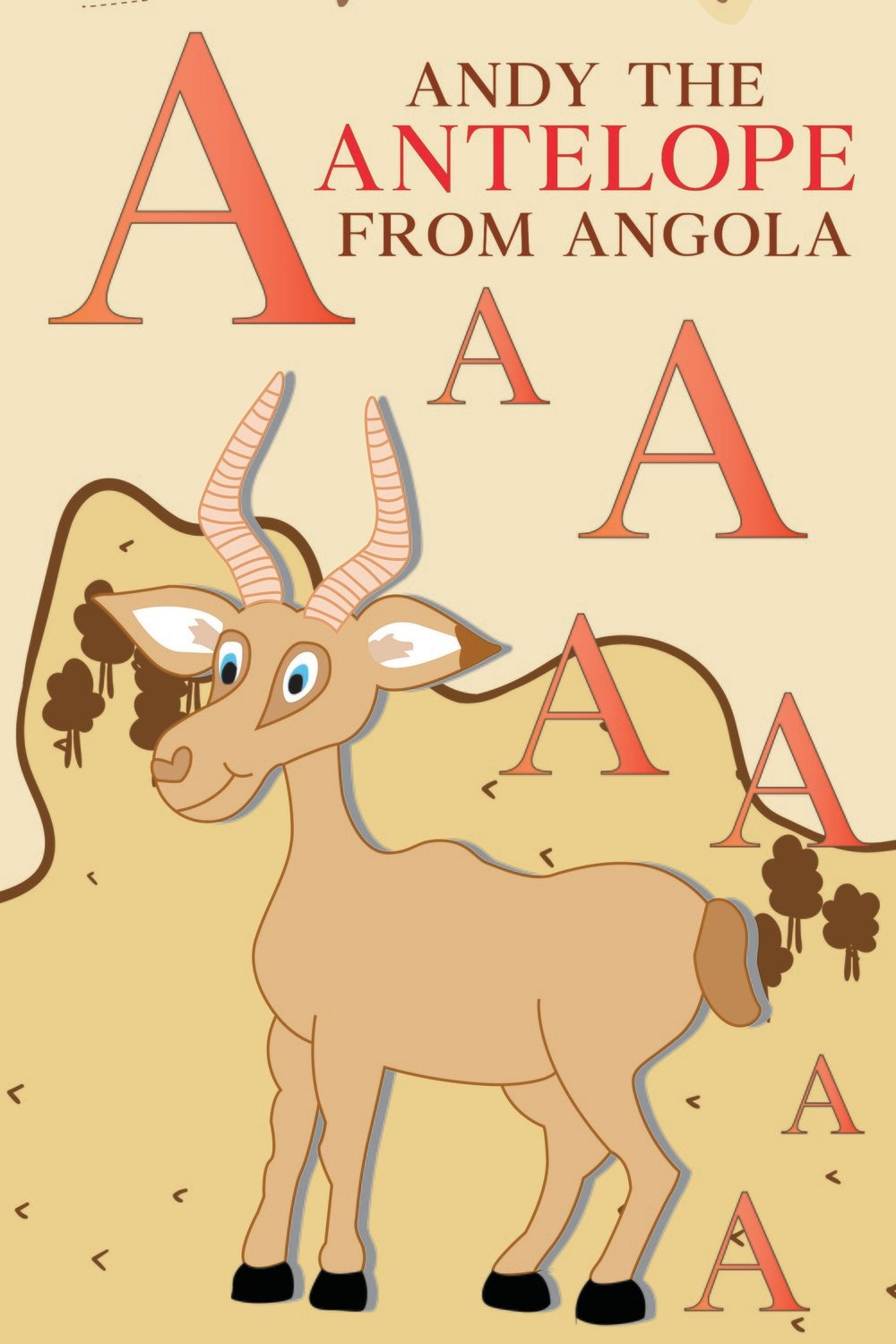 Andy The ANTELOPE From ANGOLA Poster