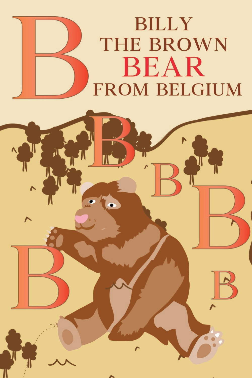 Billy The BROWN BEAR From BELGIUM Poster