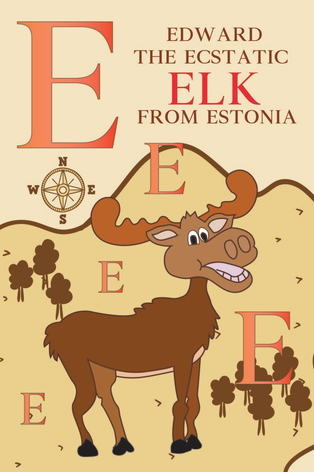 Edward The Ecstatic ELK From ESTONIA Poster