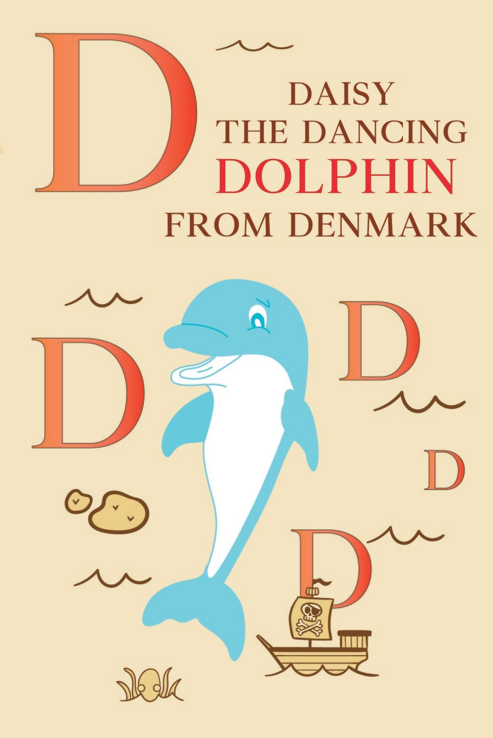 Daisy The Dancing DOLPHIN From DENMARK Poster