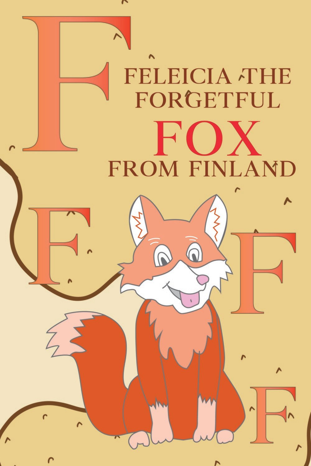 Feleicia The Forgetful FOX from FINLAND Poster